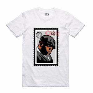 Biggie White T-Shirt (Stamp V1 Collection)