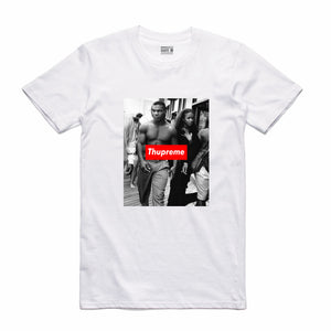 Thupreme Strut White T-Shirt (Thupreme Collection)