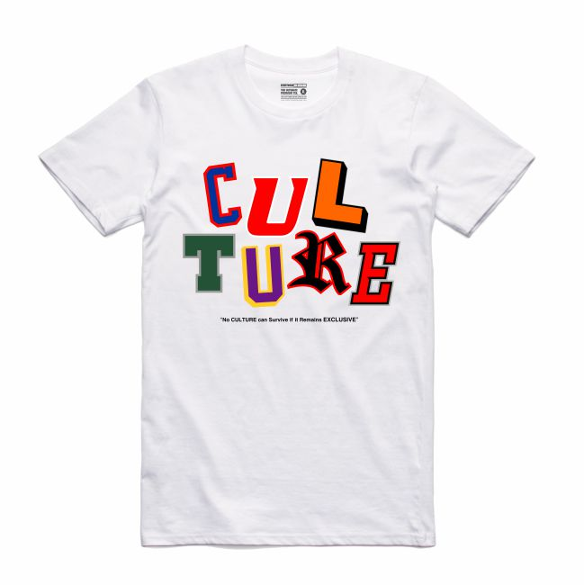 Letterman White T-Shirt (Culture)