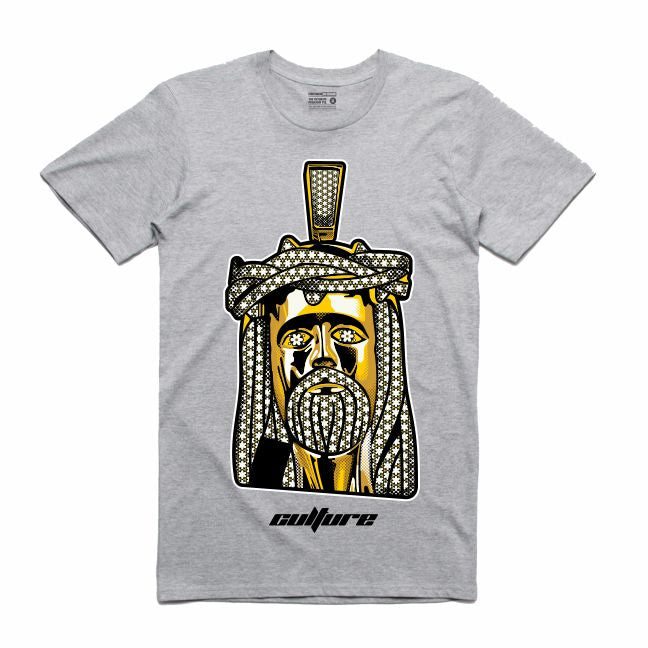 Jesus Grey T-Shirt (Culture)