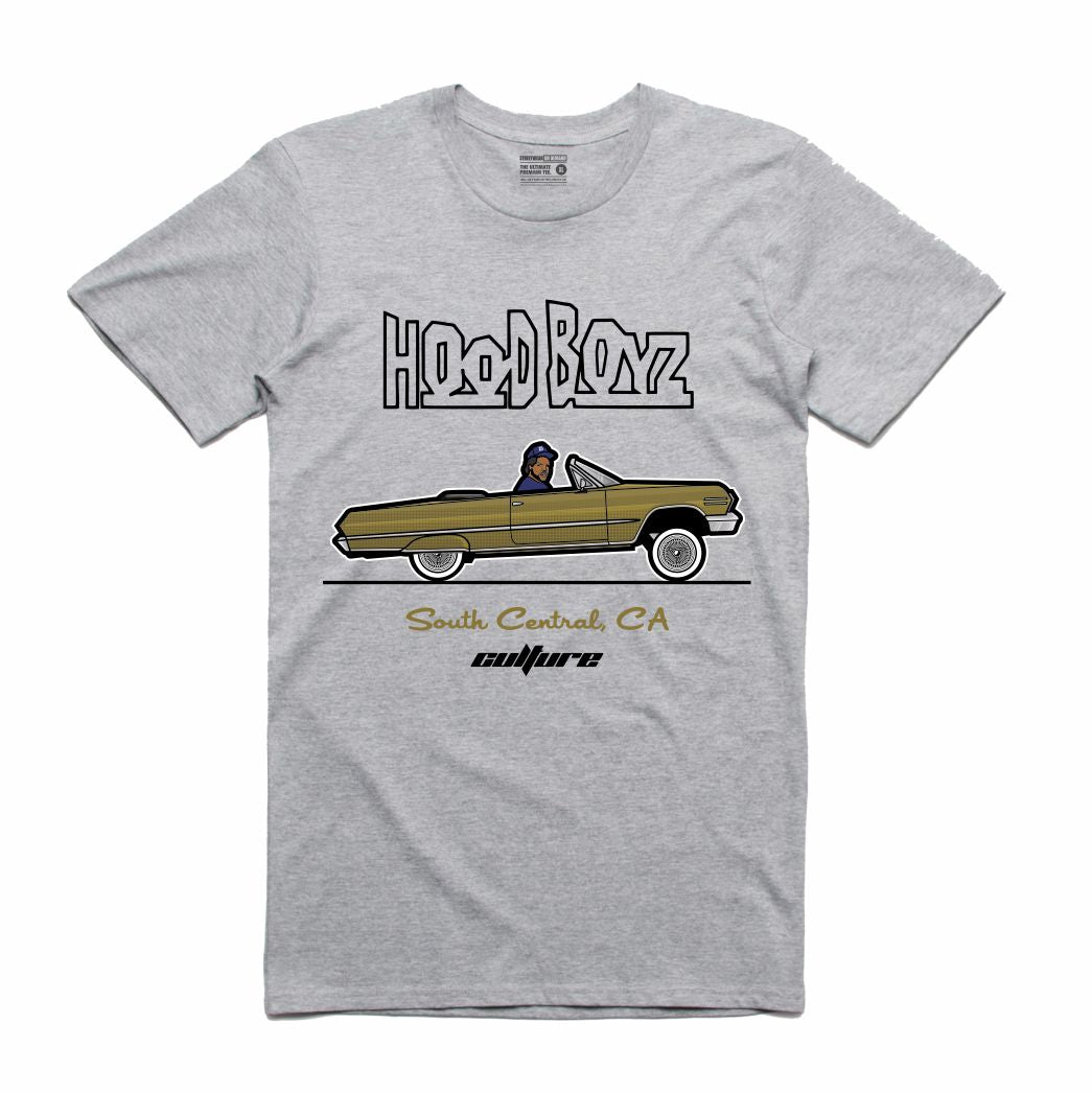 Dough Boy Hood Boys Grey T-Shirt (Culture)