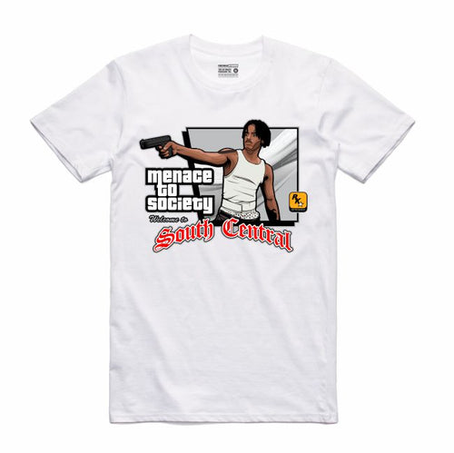 Menace White T-Shirt (GTA Collection)