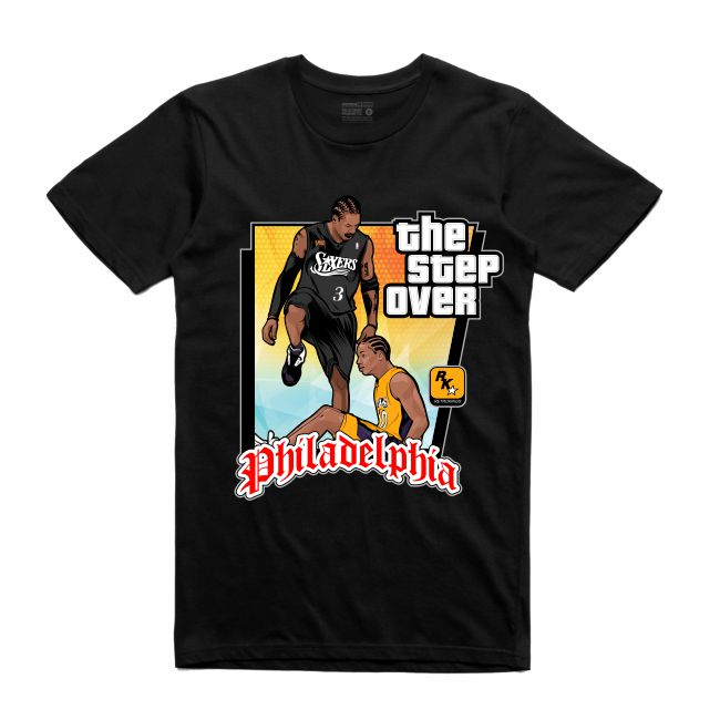 The Step Over Black T-Shirt (GTA Collection)