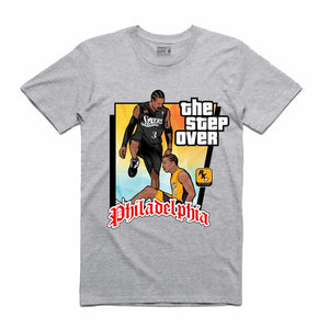 The Step Over Grey T-Shirt (GTA Collection)