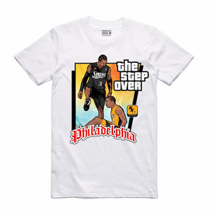 The Step Over White T-Shirt (GTA Collection)