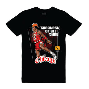 MJ Black T-Shirt (GTA Collection)