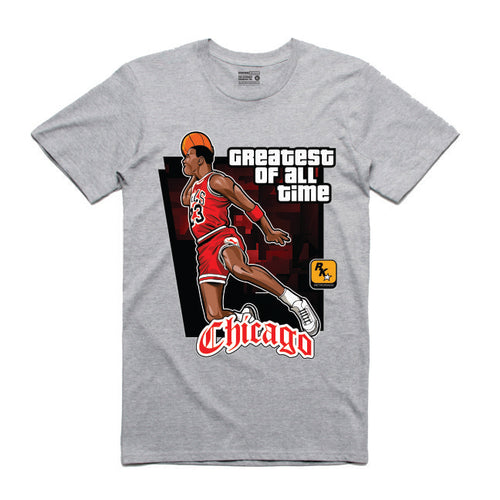 MJ Grey T-Shirt (GTA Collection)