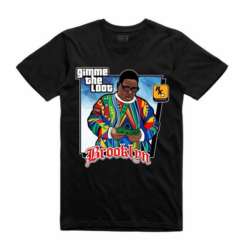 Gimme the Loot Black T-Shirt (GTA Collection)