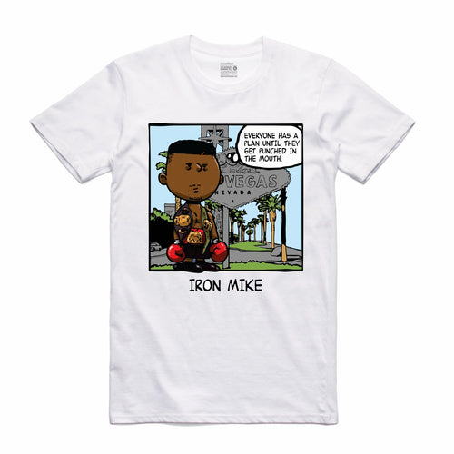 Iron Mike White T-Shirt (PNUTS Collection)