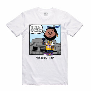 Victory Lap White T-Shirt (PNUTS Collection)