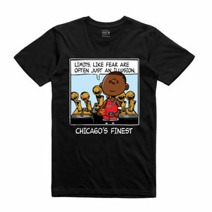 Chicago's Finest Black T-Shirt (PNUTS Collection)