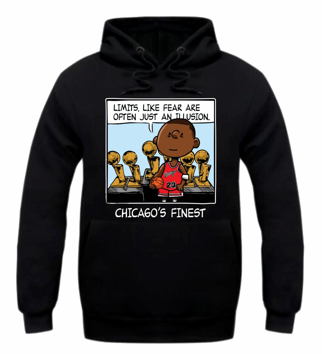 Chicago's Finest Black Hoodie (PNUTS Collection)