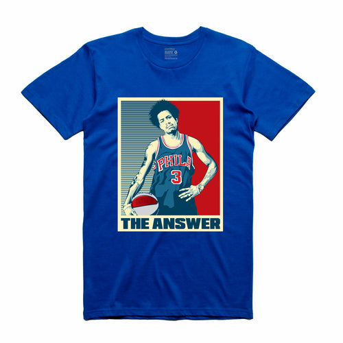 The Answer Royal T-Shirt (Stencil Collection)