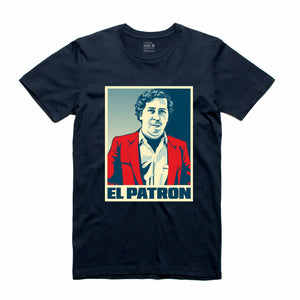 El Patron Navy T-Shirt (Stencil Collection)
