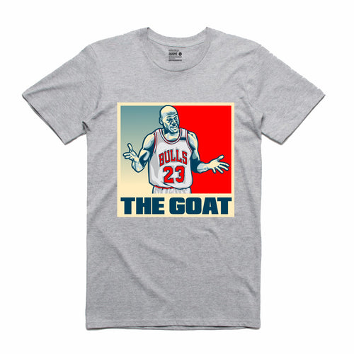 The GOAT Grey T-Shirt (Stencil Collection)