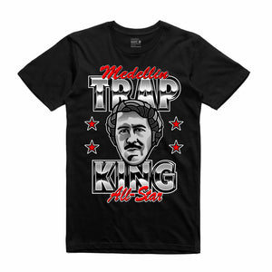 Pablo Black T-Shirt (Trap King Collection)
