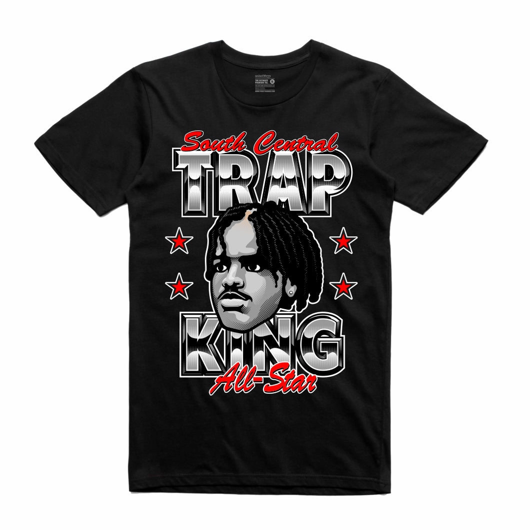 Menace Black T-Shirt (Trap King Collection)
