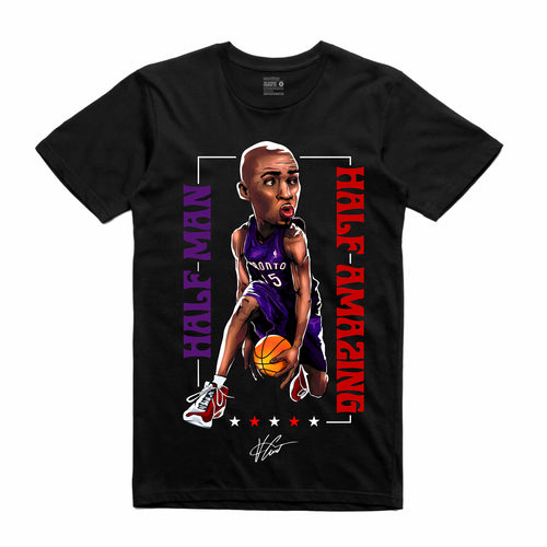 Vince Carter Black T-Shirt (Legends Collection)