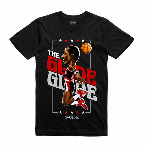 Clyde the Glyde Black T-Shirt (Legends Collection)