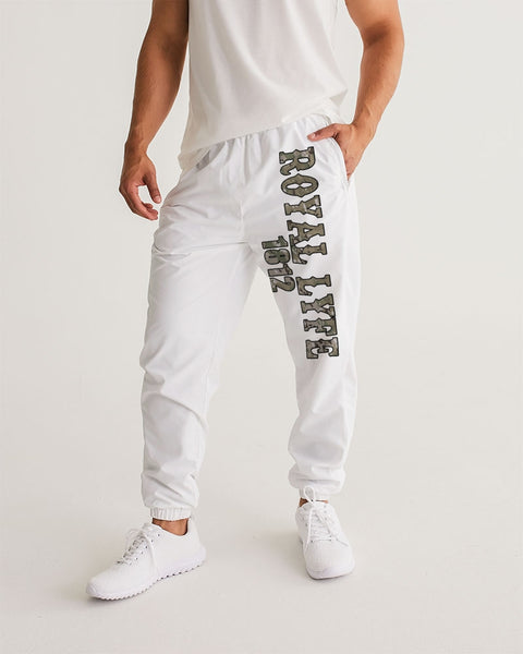 RLA-CAMO White Men's Track Pants