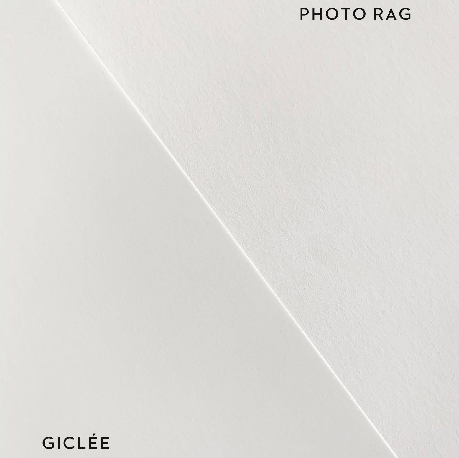 Photo Rag and Giclee Comparison