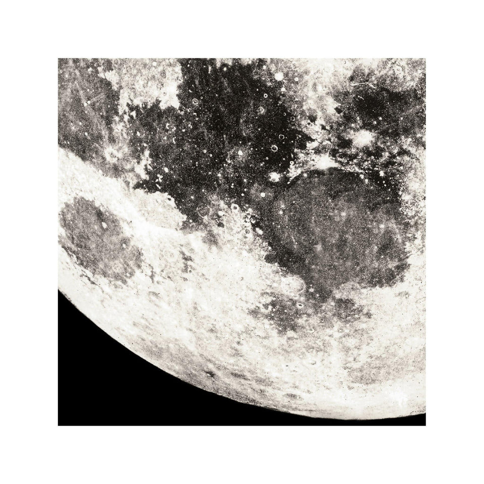 1896 MOON PHOTOGRAVURES - PHASE 01 - NEAR FULL MOON - Foundry