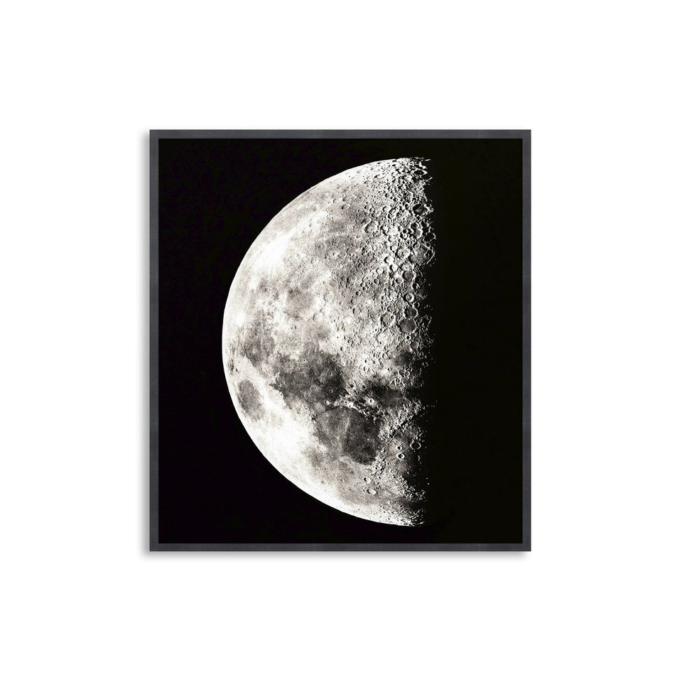 1896 MOON PHOTOGRAVURES - PHASE 04 - FADING MOON - Foundry