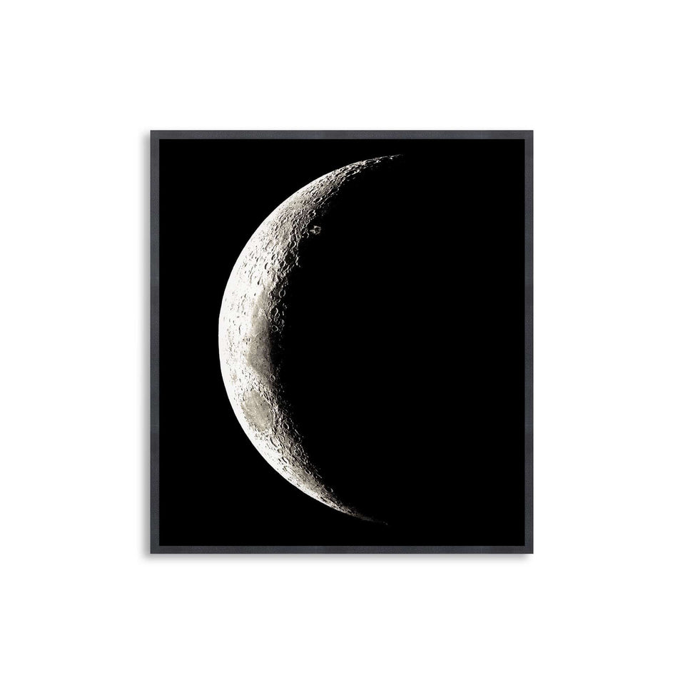 1896 MOON PHOTOGRAVURES - PHASE 06 - CRESCENT MOON - Foundry