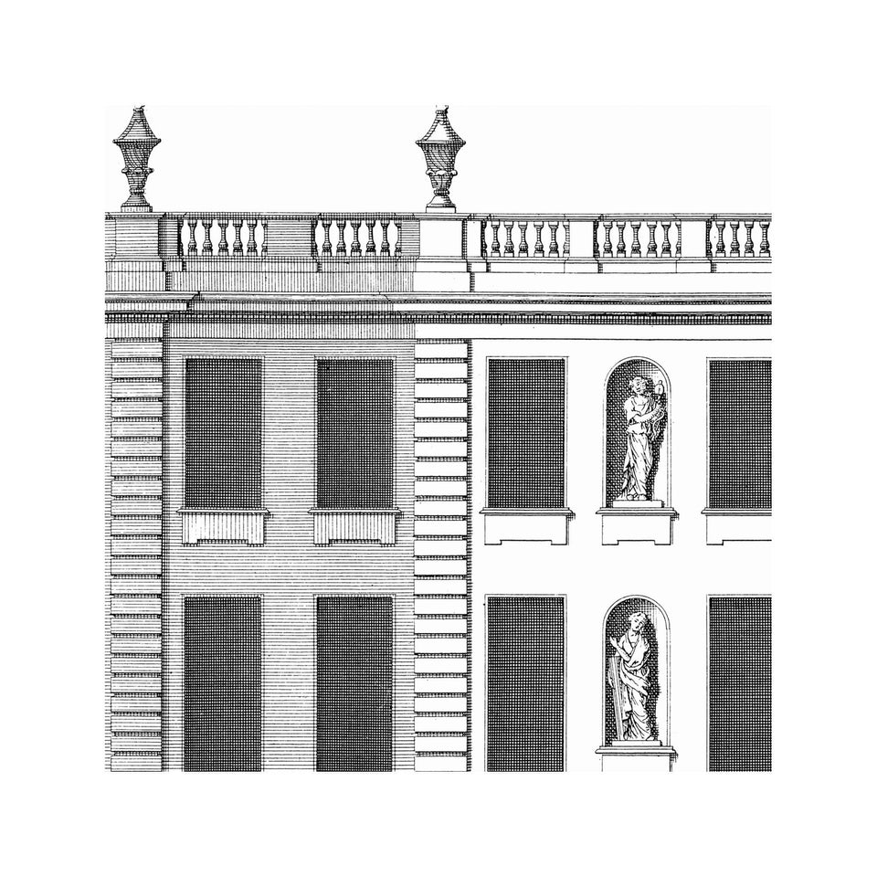 18TH C. ENGLISH TOWNHOUSE #3 - Marlborough House - Foundry