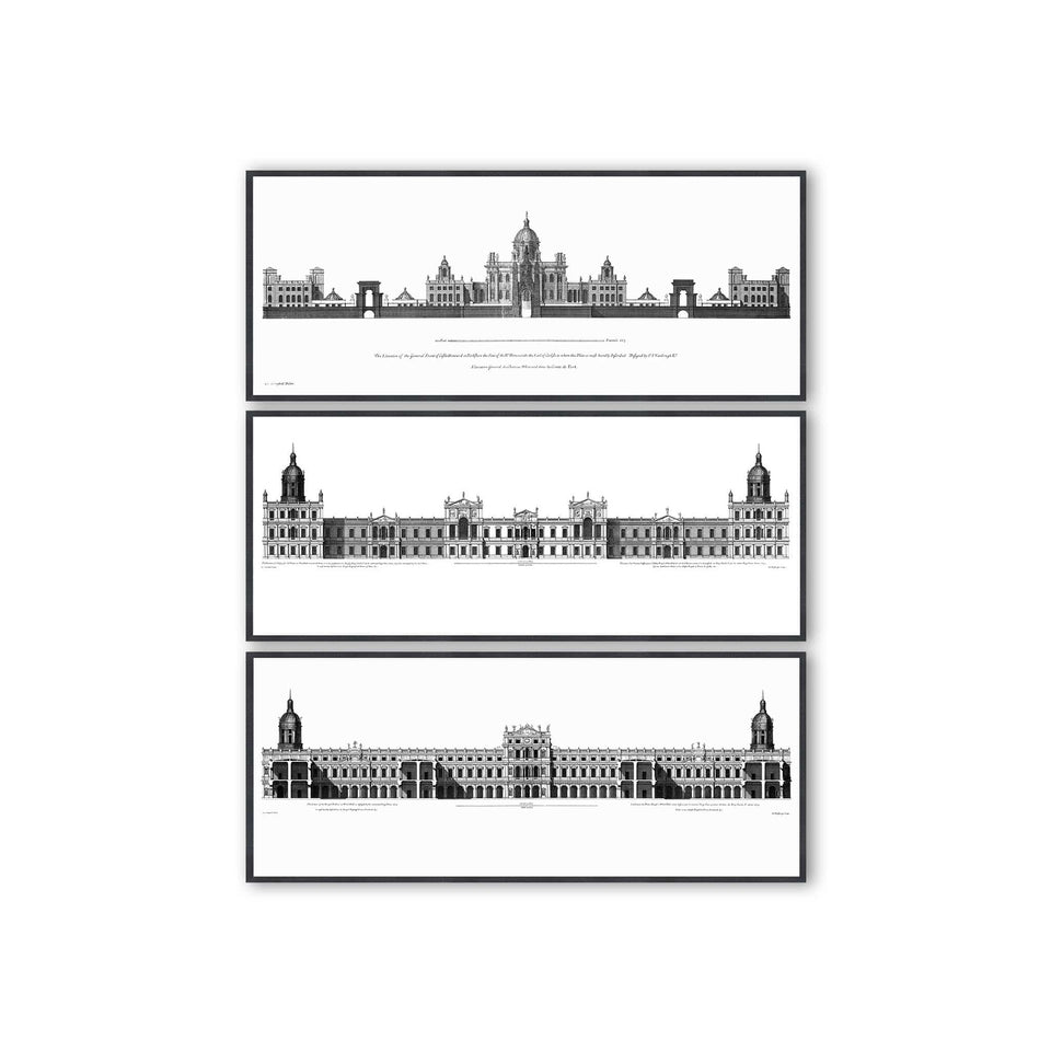 18TH C. PALACE ELEVATIONS Collection - Foundry