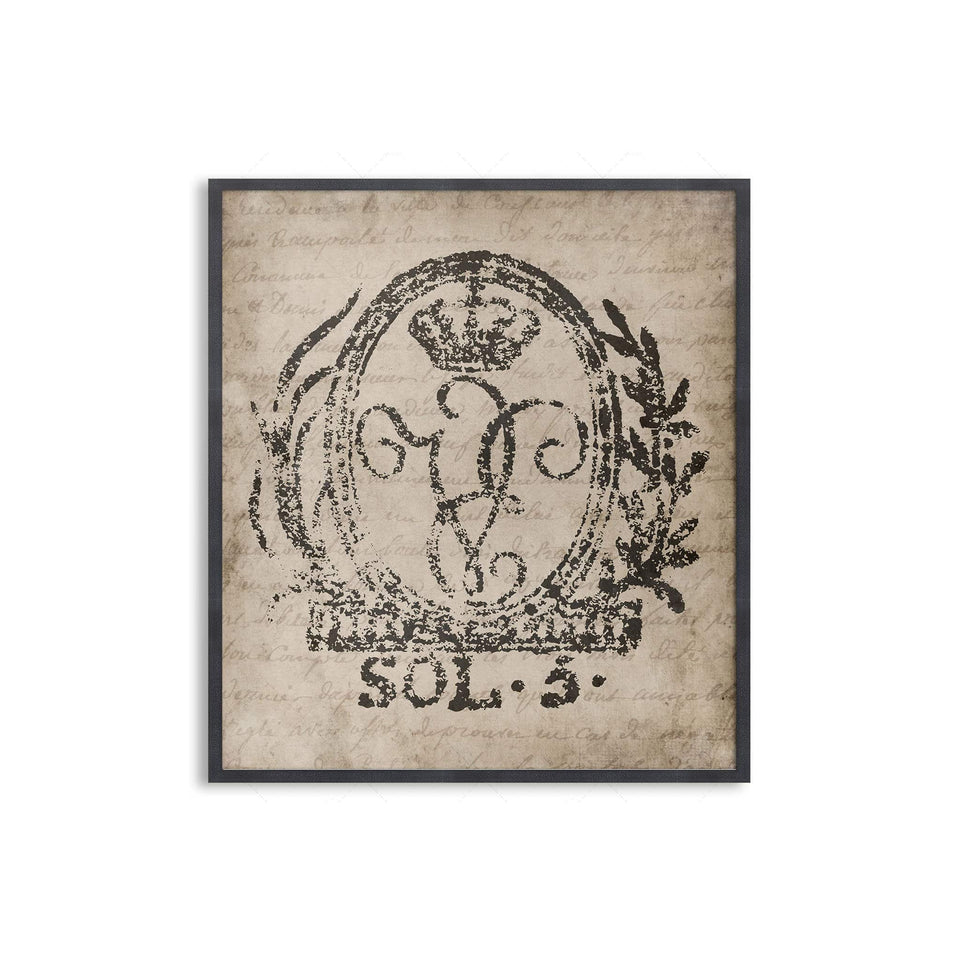 18th Century EUROPEAN DOCUMENT SEAL #07 - Foundry