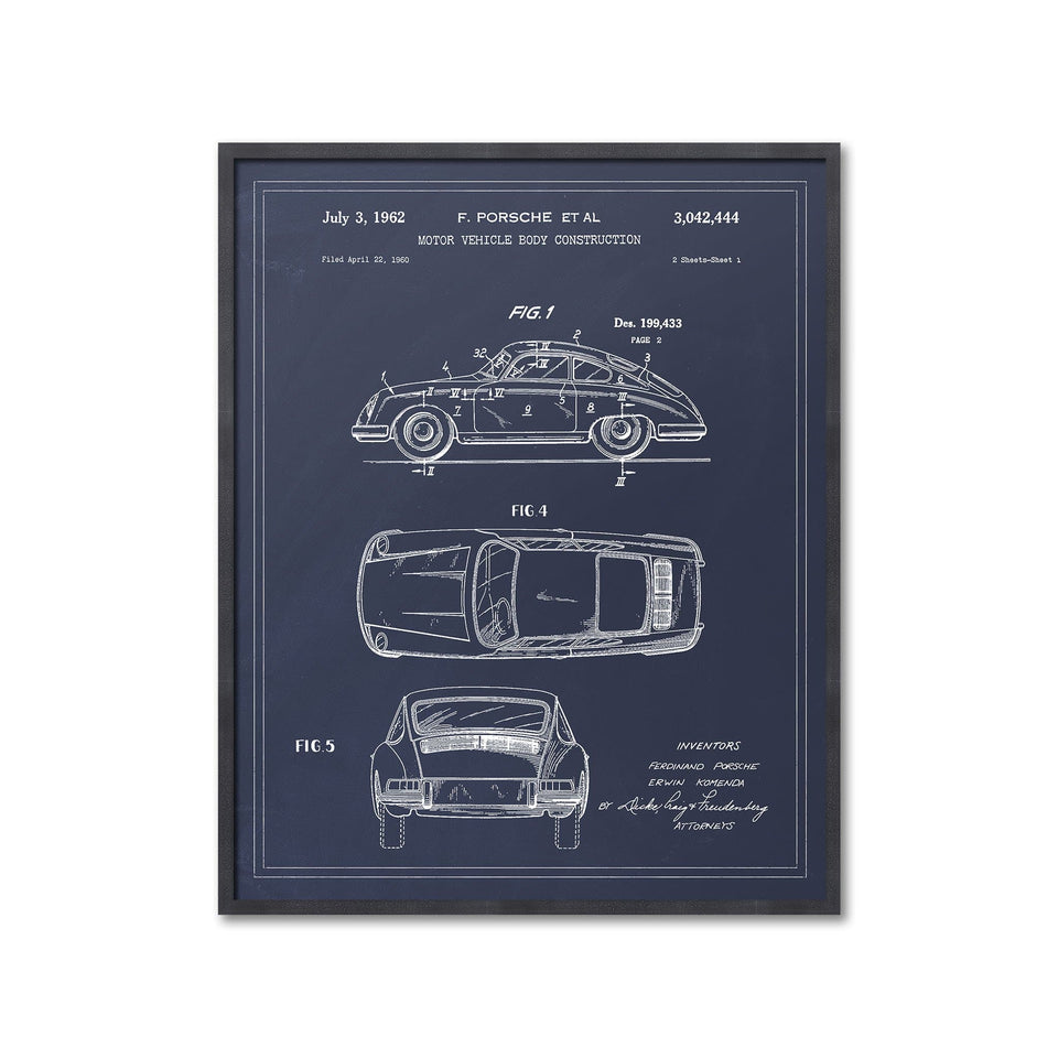 1962 PORSCHE CAR Patent - Foundry