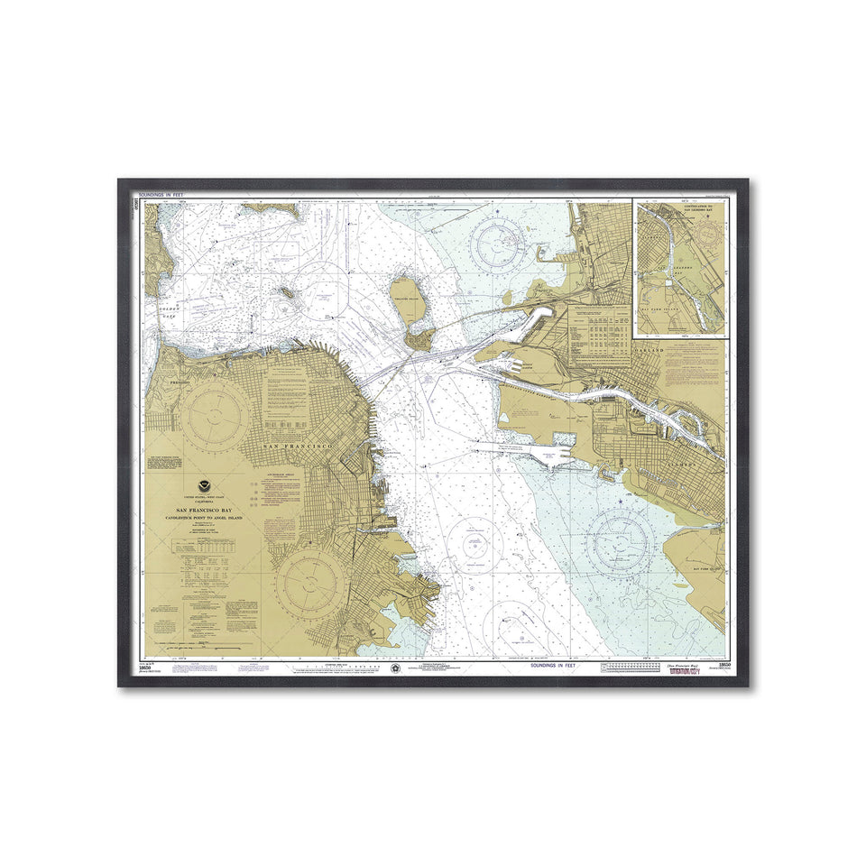 SAN FRANCISCO BAY Map - Foundry