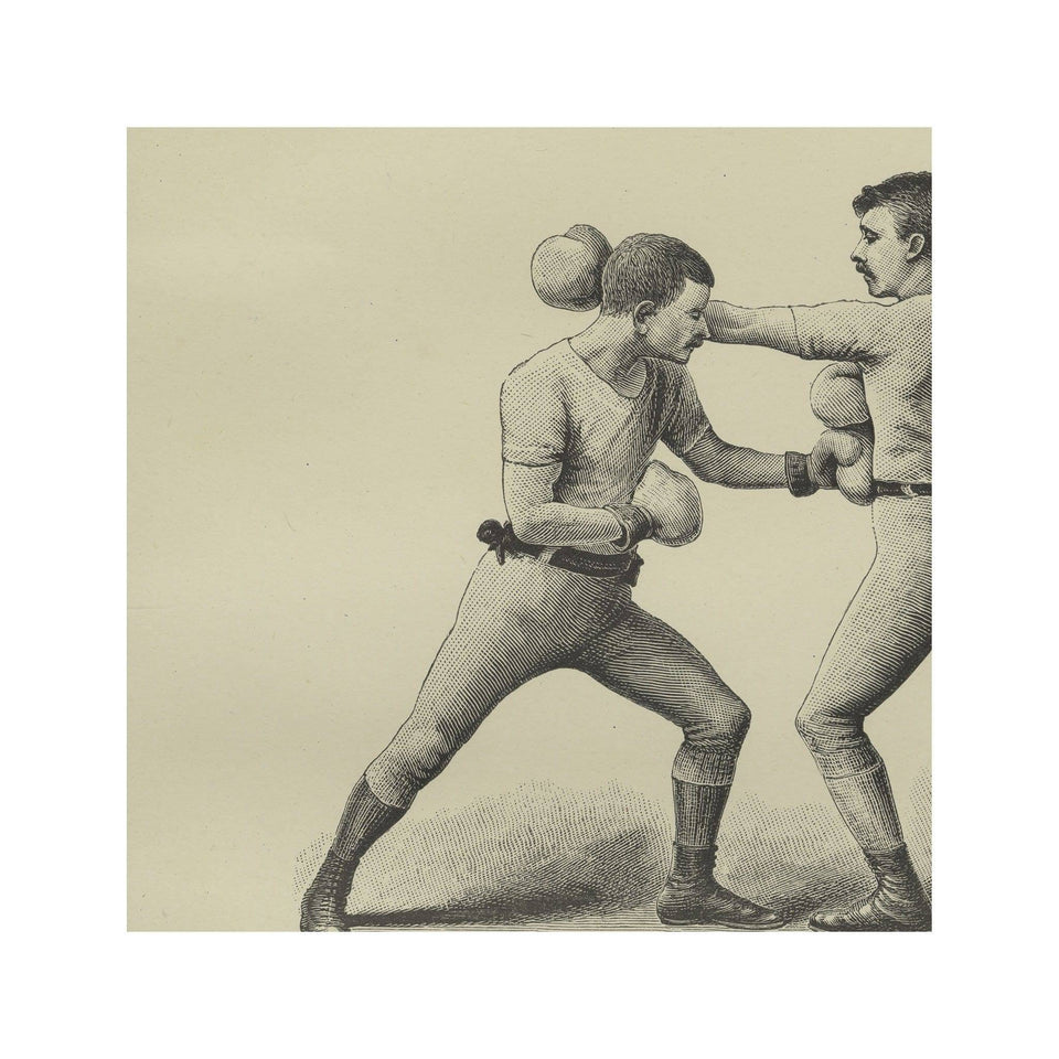 Boxing Illustration - Figure XI - LEAD OFF at the BODY - Foundry