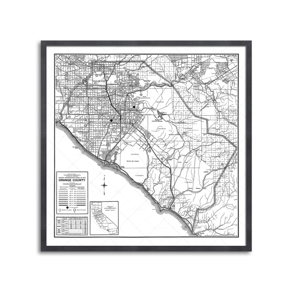 CALIFORNIA - ORANGE COUNTY Map - Foundry