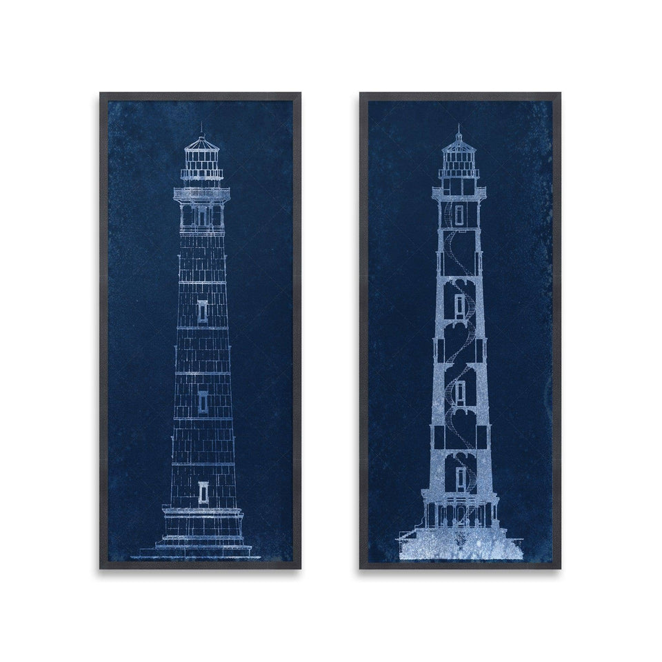 CAPE HENRY LIGHTHOUSE Blueprint Collection - Foundry