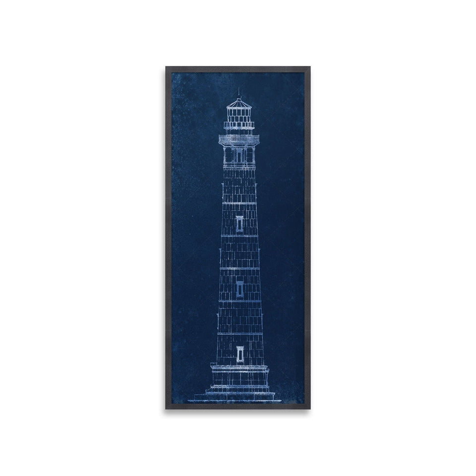 CAPE HENRY LIGHTHOUSE Blueprint  - ELEVATION