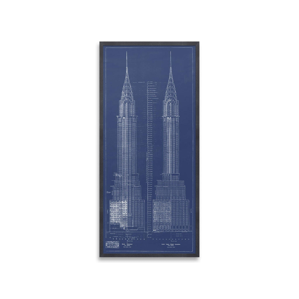 CHRYSLER BUILDING Elevations - Foundry