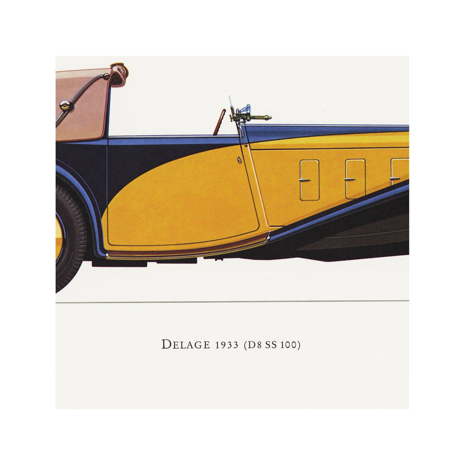 CLASSIC CAR - DELAGE (DS SS 100), 1933