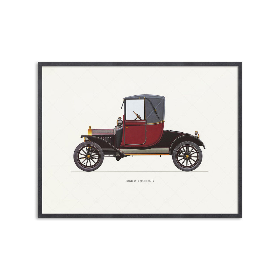 CLASSIC CAR - FORD (Model T), 1911 - Foundry
