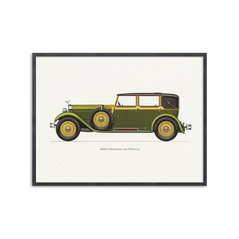 CLASSIC CAR - ISOTTA-FRASCHINI (Type 8-A), 1929 - Foundry