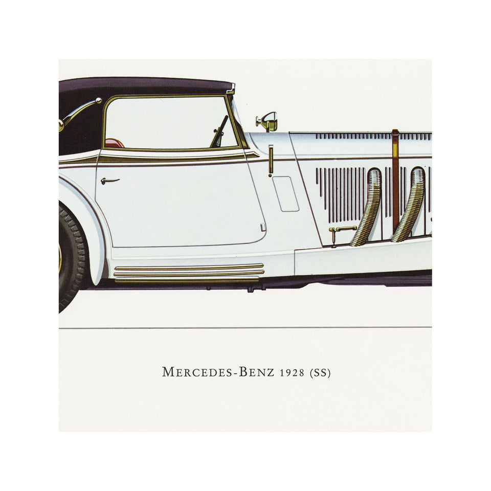 CLASSIC CAR - MERCEDES-BENZ (SS), 1928 - Foundry