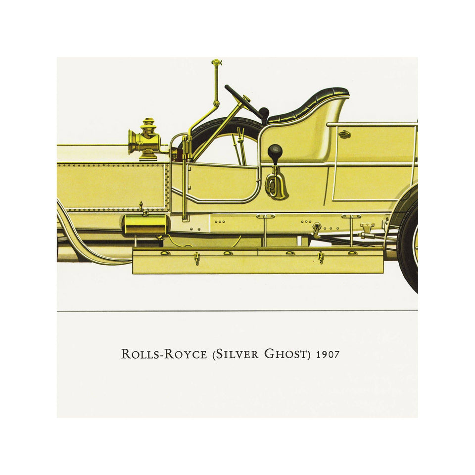 CLASSIC CAR - ROLLS ROYCE (Silver Ghost), 1907 - Foundry