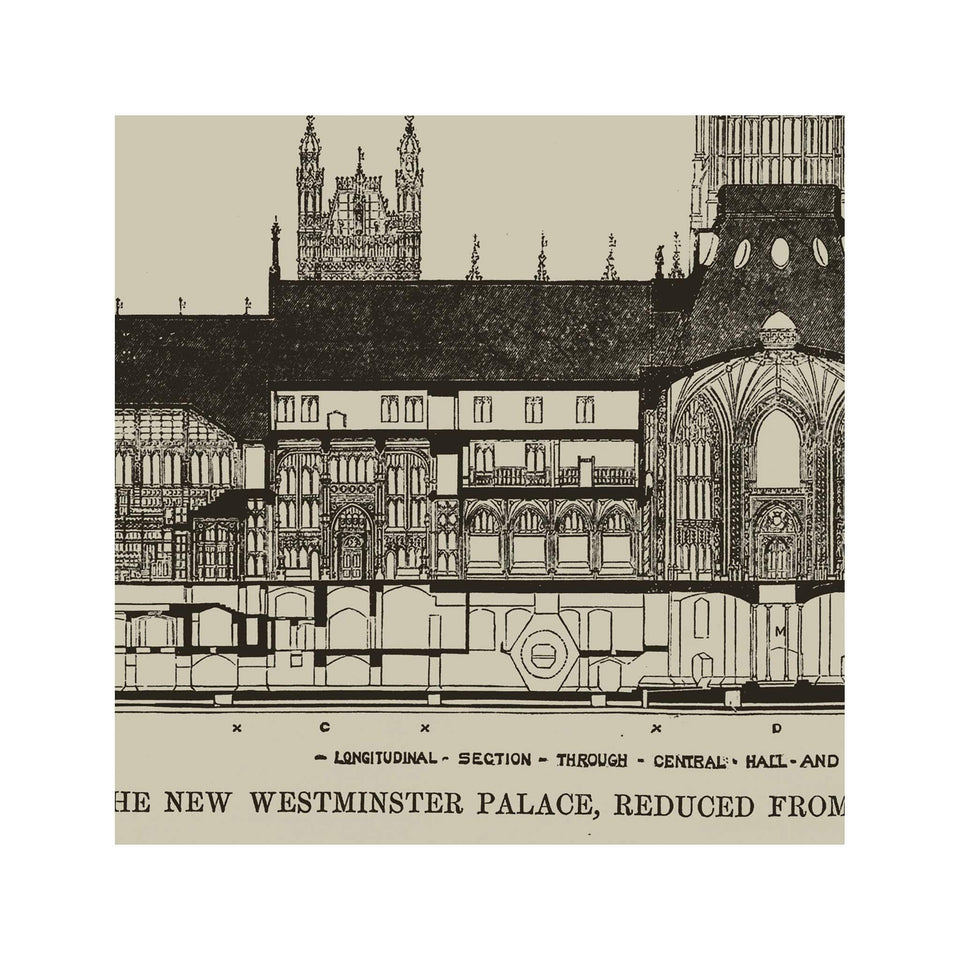 ELEVATION of BRITISH PARLIAMENT - Foundry