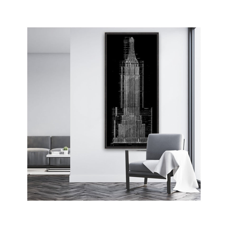 EMPIRE STATE BUILDING Blueprint - Foundry