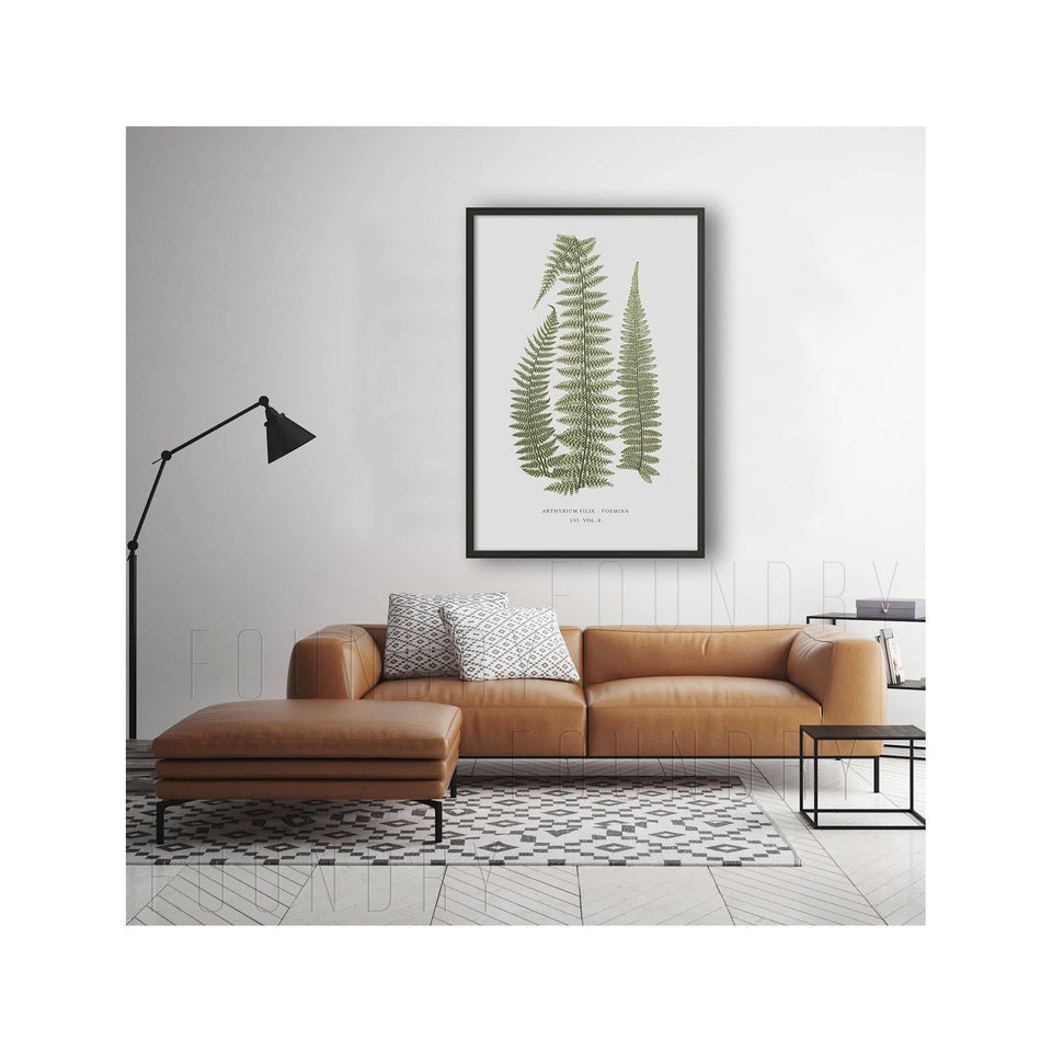 FERN ART: 1859 ENGLISH FERN #10 - Foundry