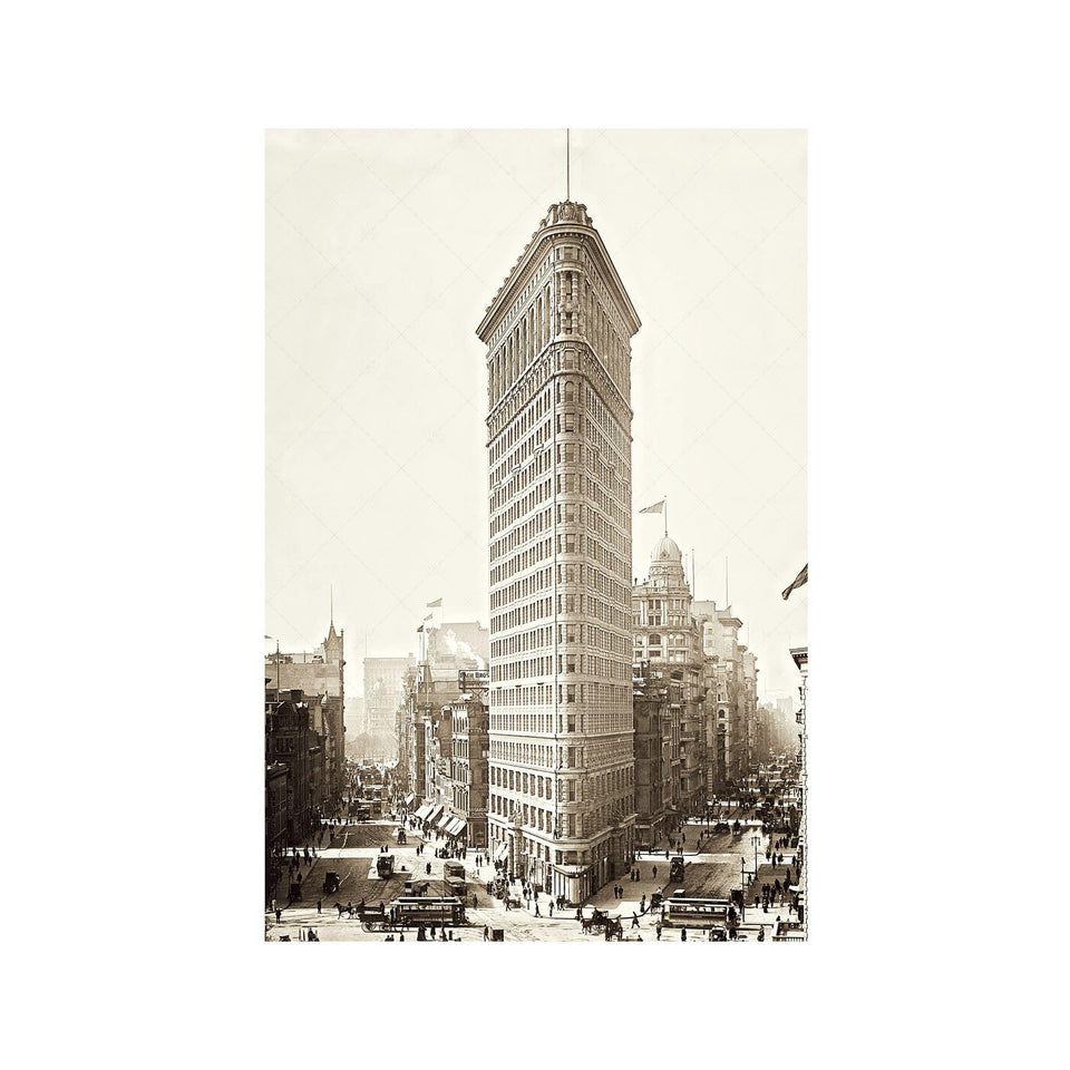 FLATIRON Building - 1903 - Foundry
