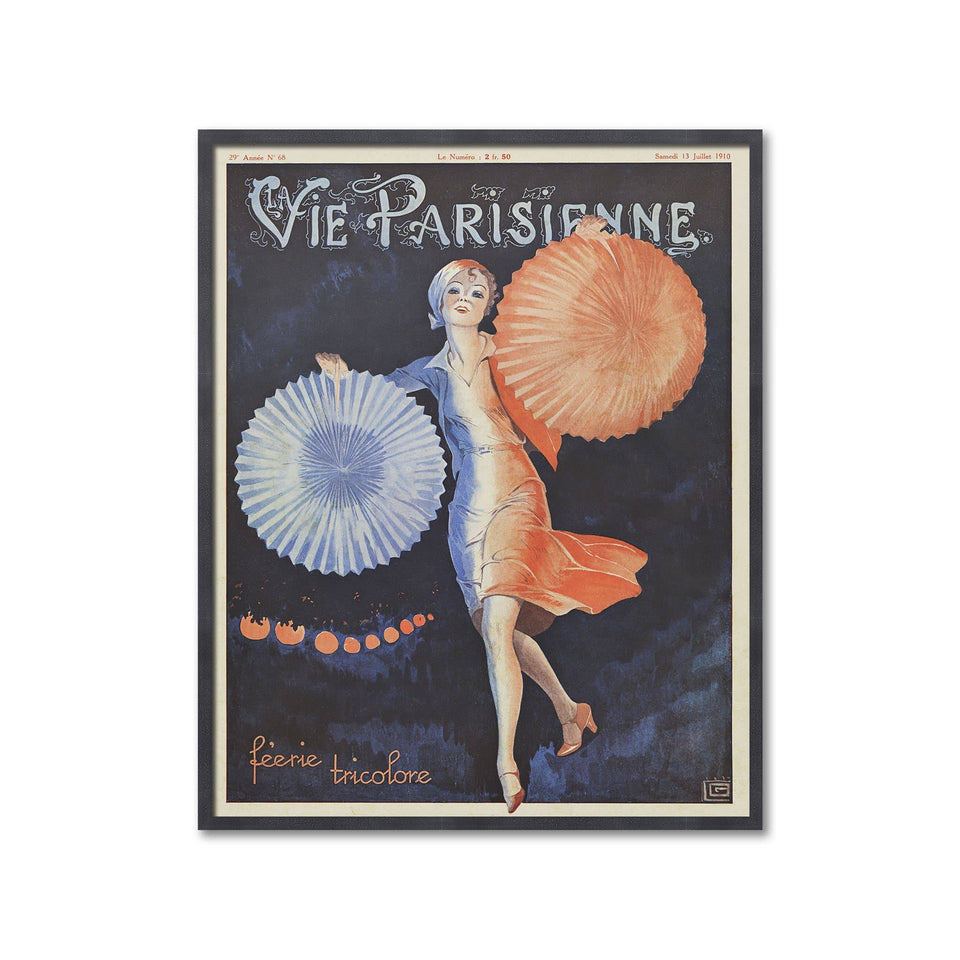 FRENCH ART - VIE PARISIENNE