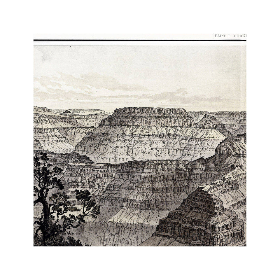 GRAND CANYON, 1882 - Foundry