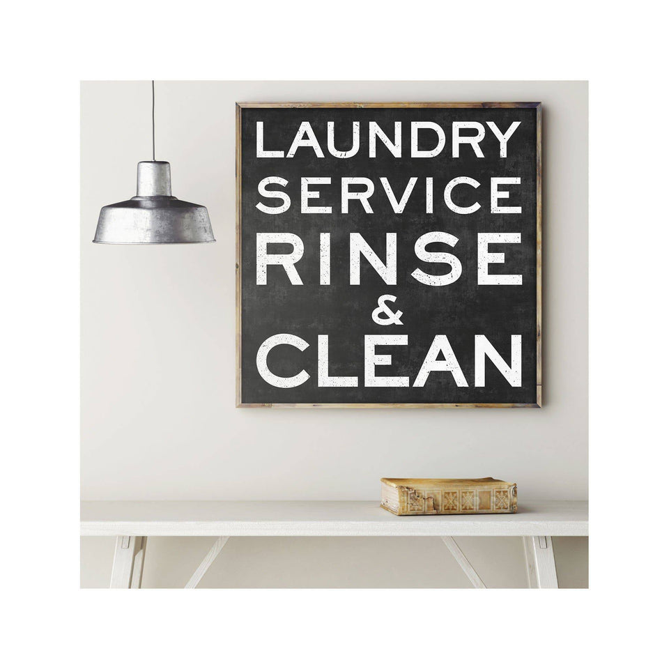 LAUNDRY DAY Sign - Foundry